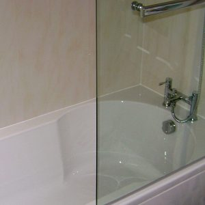 Vicenza Beige in a shower bath