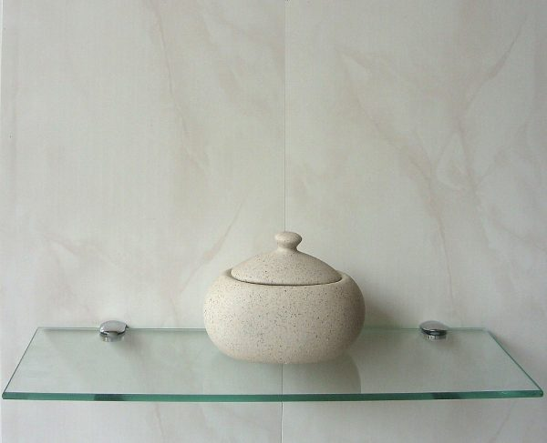 vicenza beige72 600x487 - Vicenza  - Beige Marble Bathroom Cladding 2.6m
