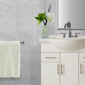 Vicenza grey2 300x300 - Carrara White Marble Mosaic Bathroom Panels