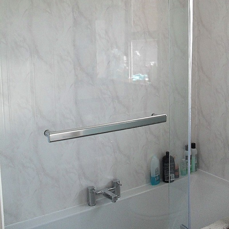 vicenza grey cladding in a bath