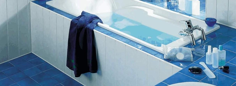 blue bath panel - Bath Panels