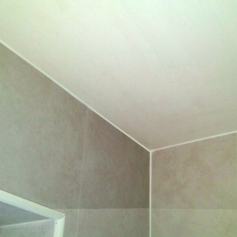 Blanca Classic White Bathroom Ceiling