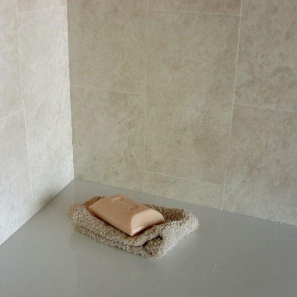 florentine beige tile effect panel