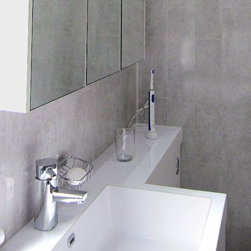 florentine grey tile effect panels from the bathroom marquee