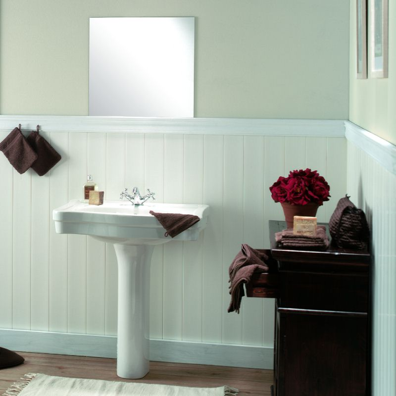 Wall panels wood effect the bathroom marquee for Bathroom ideas with wooden panels