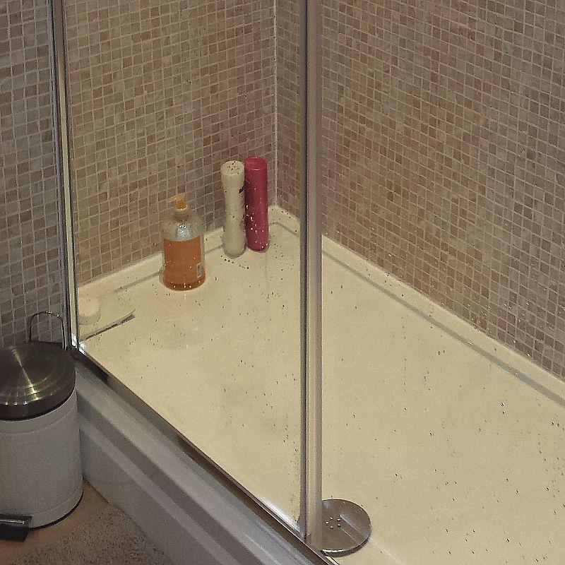 mosaic beige4 - Shower Wall Cladding
