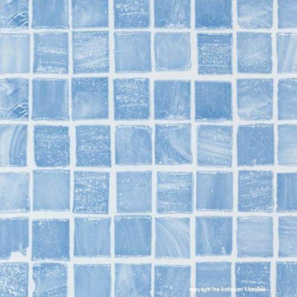 mosaic blue scan 600x600 - Mosaic Blue Tile Effect Panels