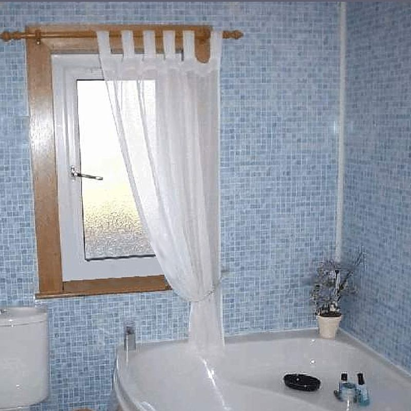 Wall Panels Bathroom: Blue Bathroom Wall Panels