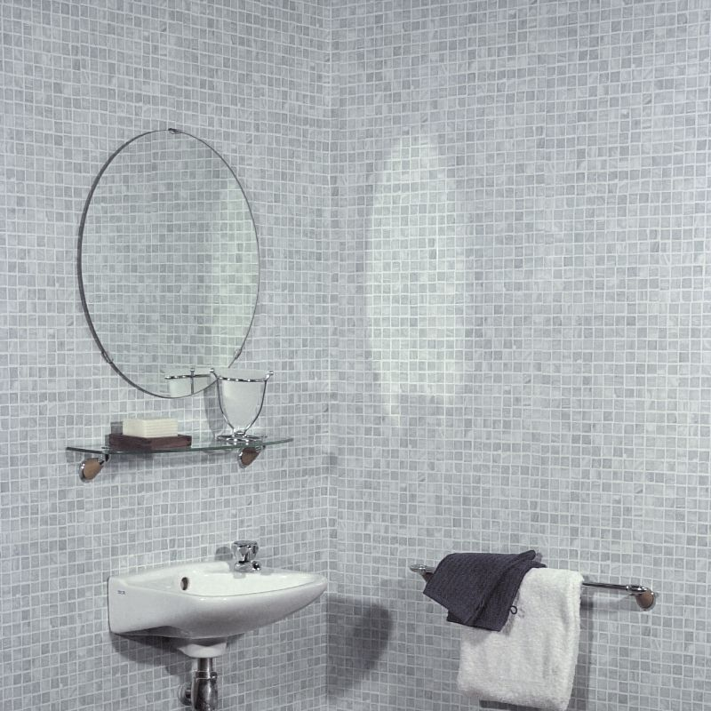 Mosaic Grey Tile Effect Panels from