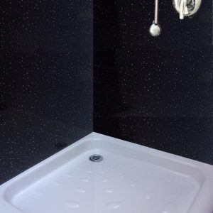 neptune black sparkle2 300x300 - Neptune Black Sparkle Shower Panels