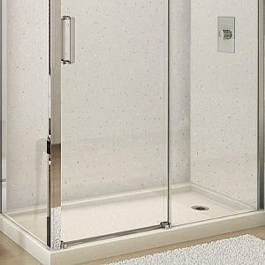 Neptune White Sparkle Shower Panels