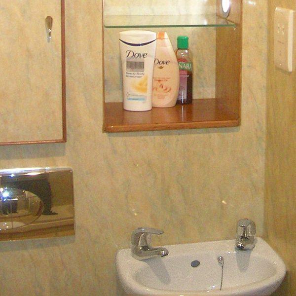Orion Amarante Bathroom Wall Panels