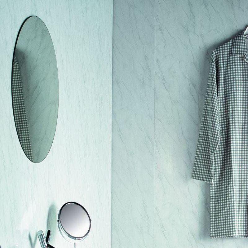 spaceline silver grey - Cladding A Small Bathroom