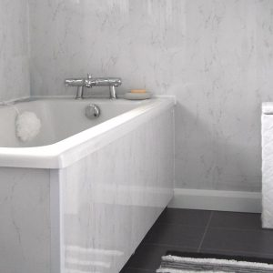 spaceline silver grey2 300x300 - Spaceline Silver Grey Bathroom Cladding