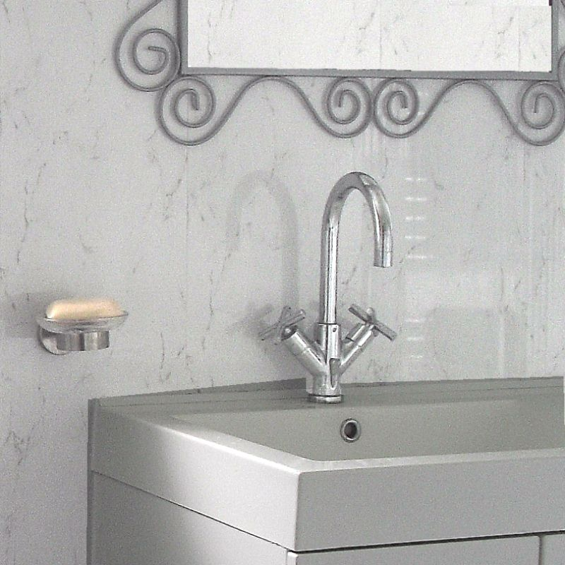 spaceline silver grey3 1 - Our Most Popular Bathroom Wall Panels