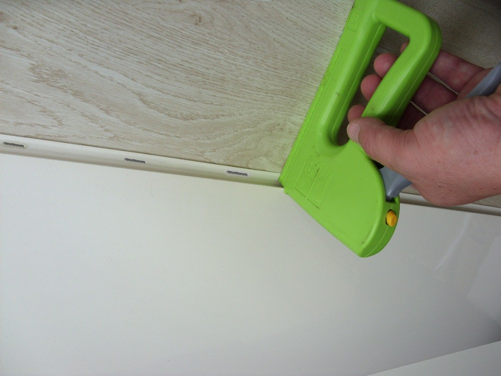 install using a staple gun