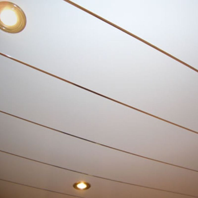 Gold Infill trim For Ceiling Panels