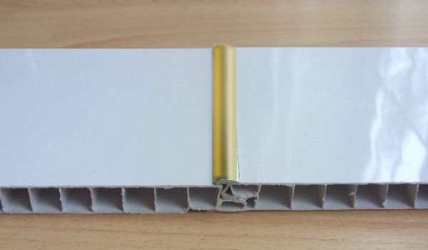 Gold Effect Trim For Ceiling Panels