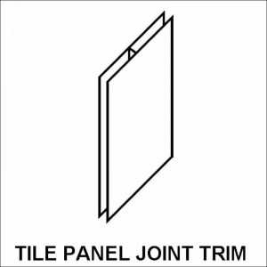 acrylic tile panel joint