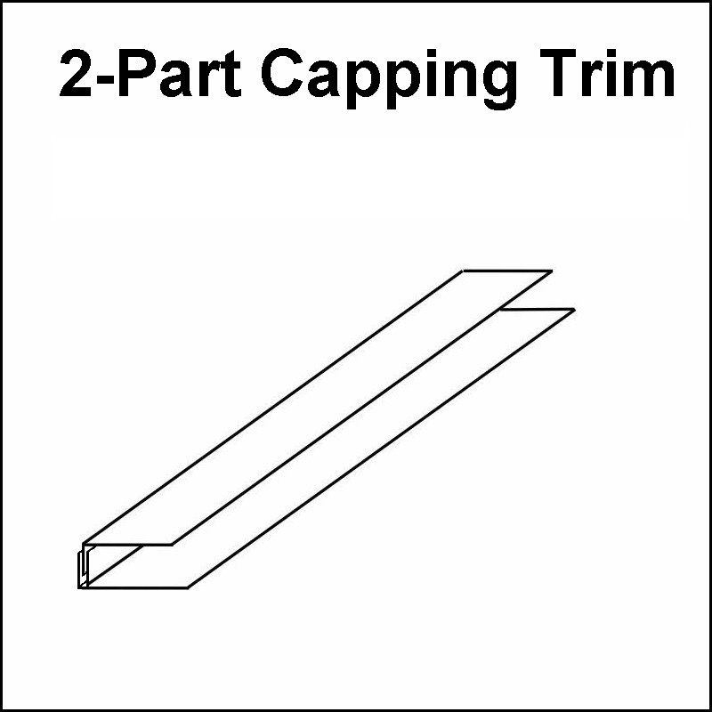 capping trim 2-part