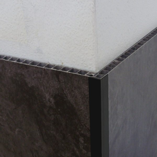 Decos Angle Trim Black