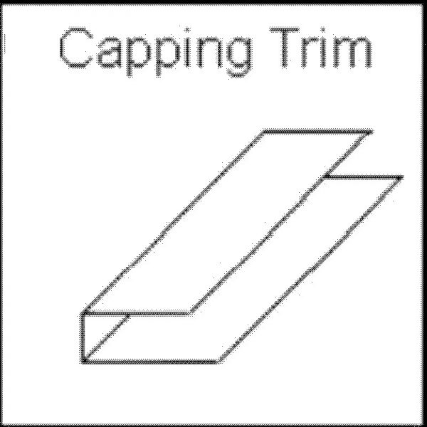 decos capping trim white