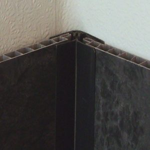 Decos Corner Trim Black 102