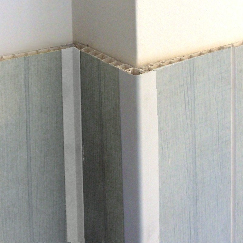 decos corner trim white - Bathroom Cladding Trims