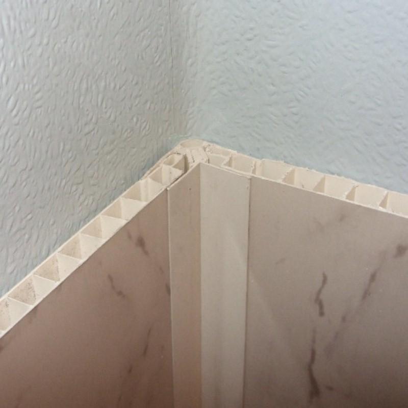 Decos Corner Trim 102 White From The Bathroom Marquee