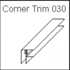 Corner Trim White 030