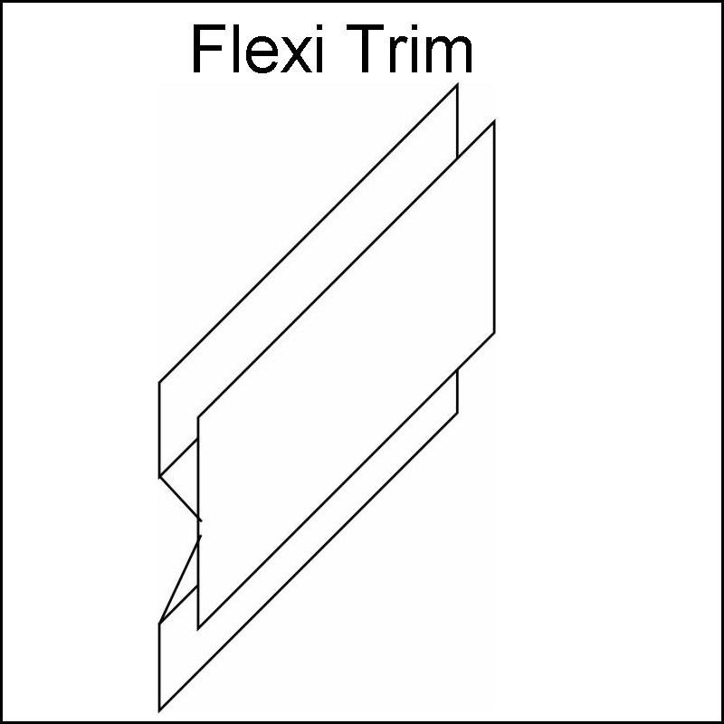Decos Flexi Corner Trim