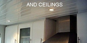 kitchen ceiling cladding - Kitchen Wall Cladding and Panelling