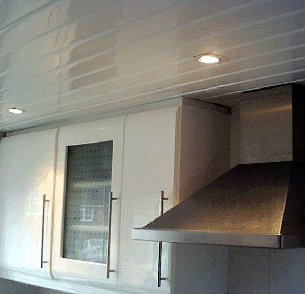 kitchen ceiling cladding