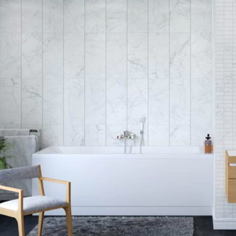 tile effect bathroom cladding