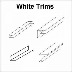 Decos White Trims