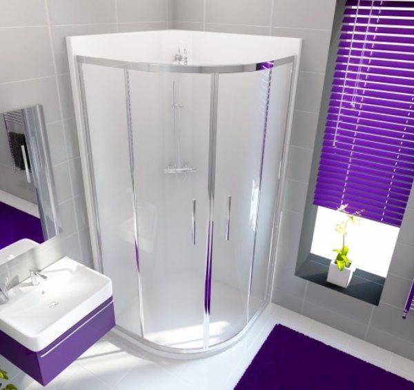 leak-free shower cubicle quadrant 900