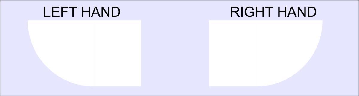 quadrant hand - Leak-Free Cubicle Quadrant 1200