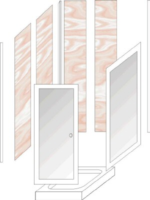 shower cubicle3 - Shower Wall Panel Trims