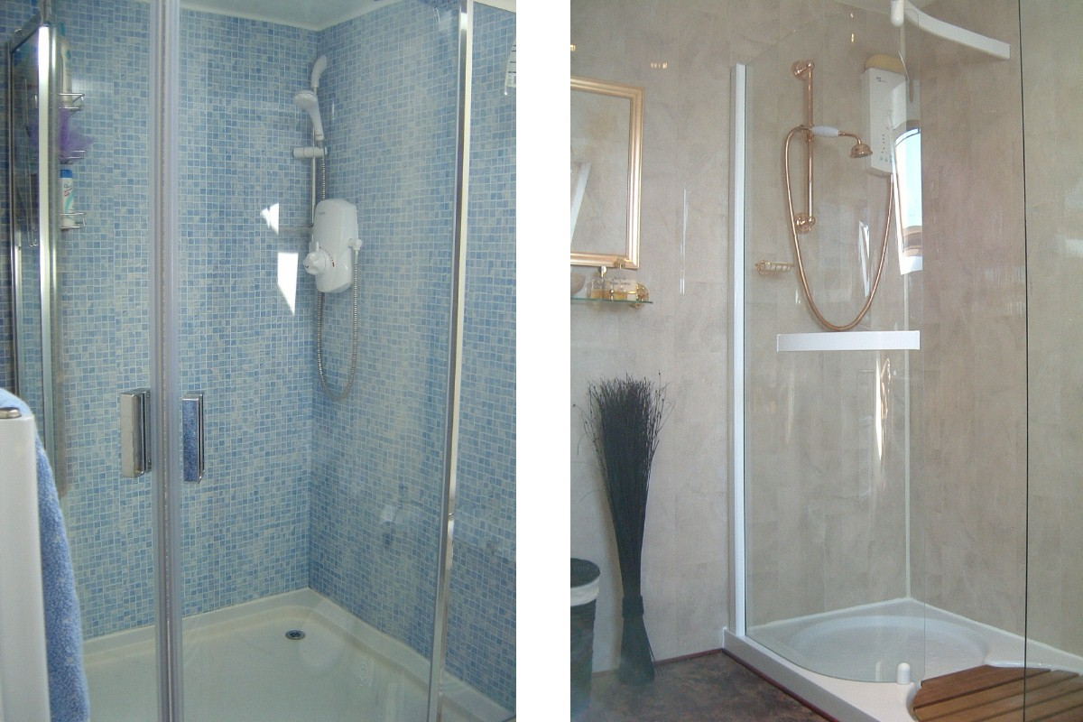 wall panels showers