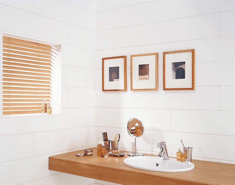 ambiance gloss white - Ambiance Gloss White Bathroom Cladding