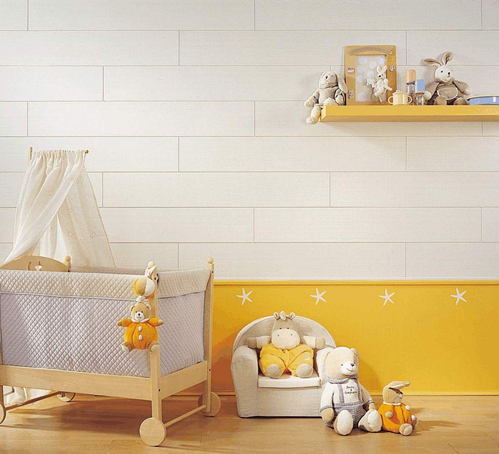 ambiance white wood - Ambiance White Wood Effect Bathroom Wall Panels