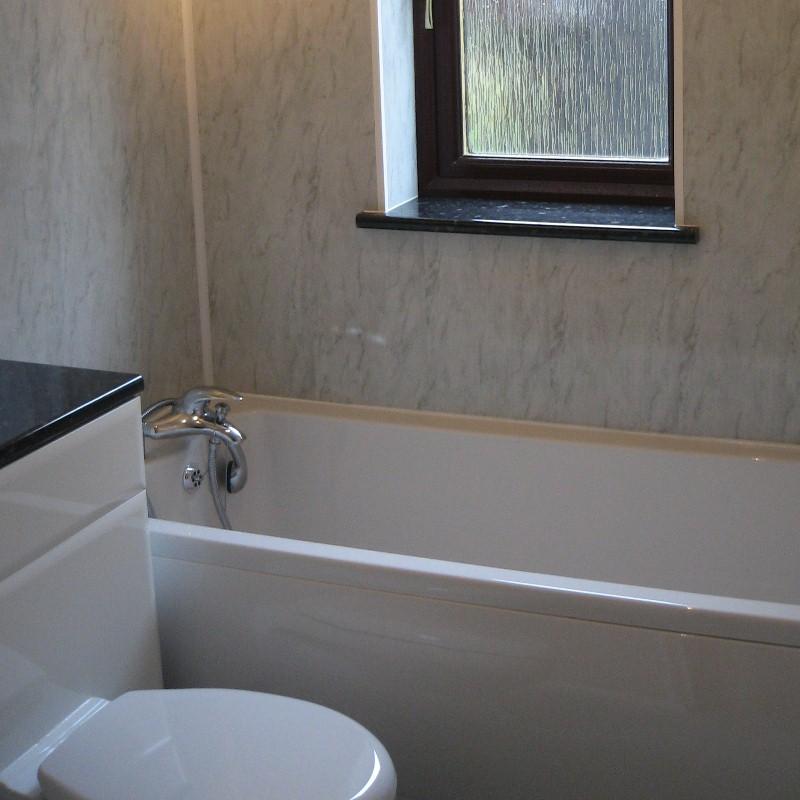 cladding a bathroom