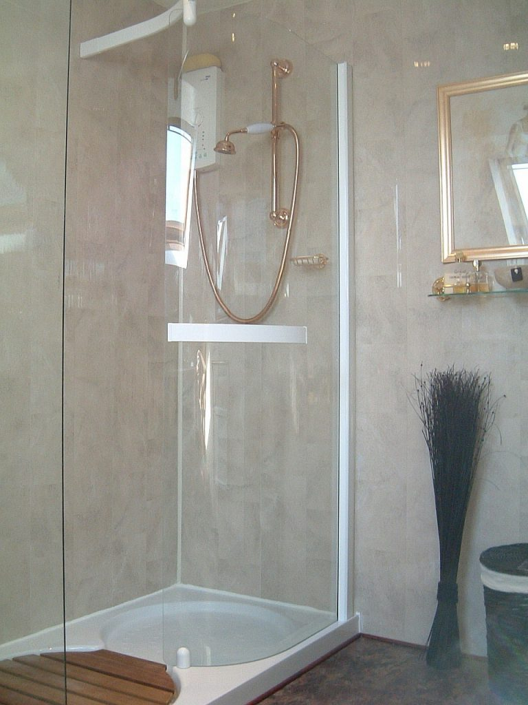 Walk In Shower Cubicle From The Bathroom Marquee