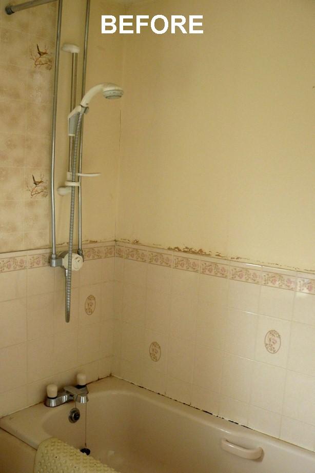 Beau Bathroom Walls Before U0026 After Panelling