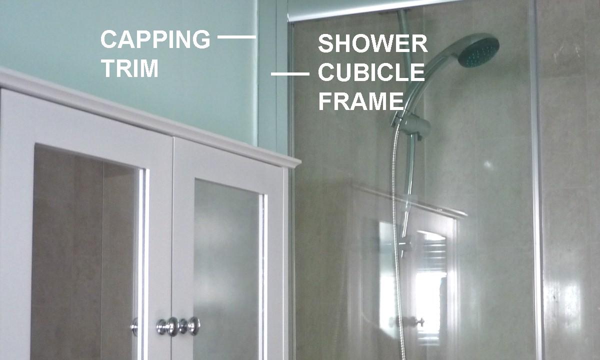 shower panels end2 - Shower Panels - Finishing Edge