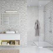 Marmo mosaic wall panels