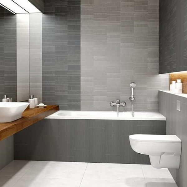 Modern Deco mosaic bathroom wall panels