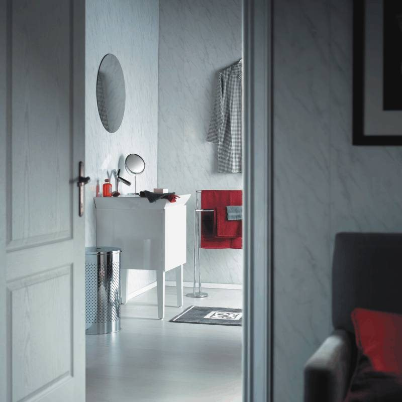 spaceline grey bathroom cladding - Our Most Popular Bathroom Wall Panels