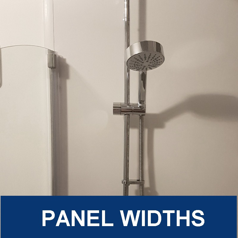 bathroom wall panel widths
