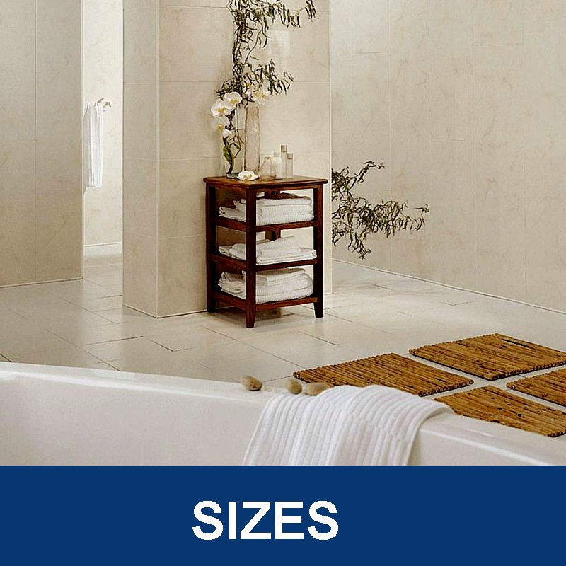 bathroom wall panels sizes - Bathroom Wall Panels - The Perfect Alternative To Tiles